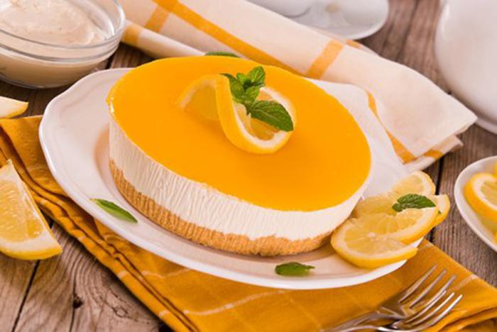 Tarta de Yogur y Limón