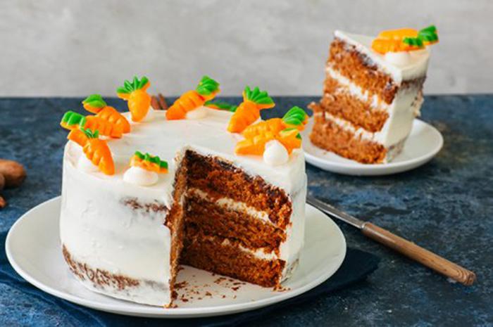 Tarta de Zanahoria Sin Gluten