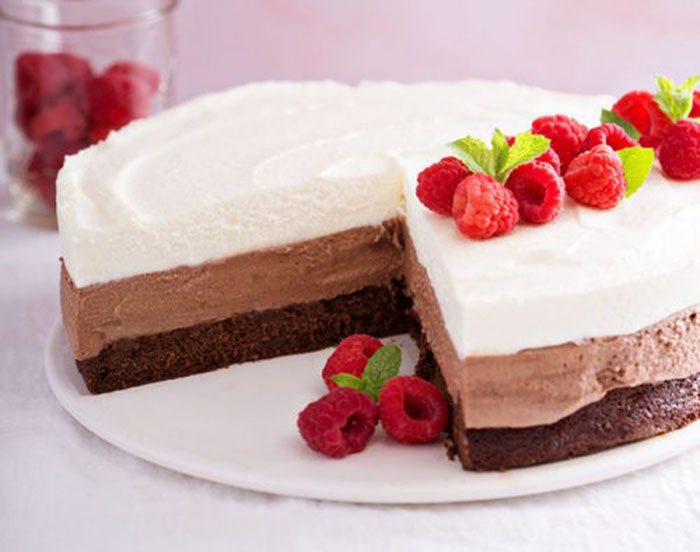 Tarta Fácil de Tres Chocolates