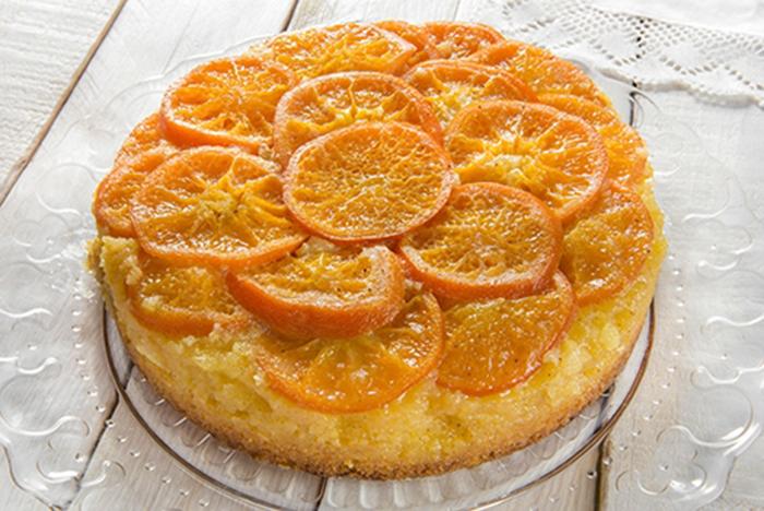 Tarta Invertida de Mandarinas