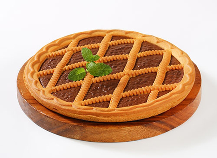 Tarta Linzer de Chocolate