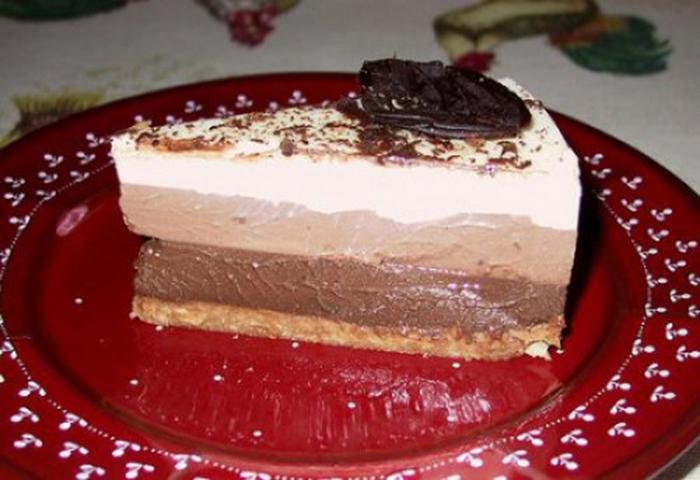 Tarta Tres Chocolat