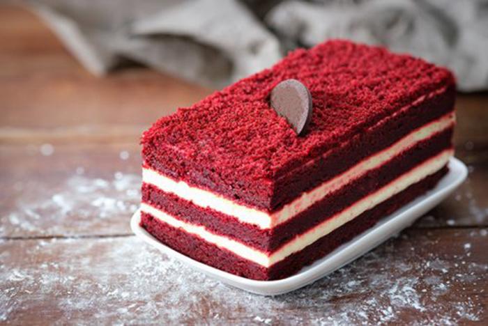 Tarta Velvet Muy Roja