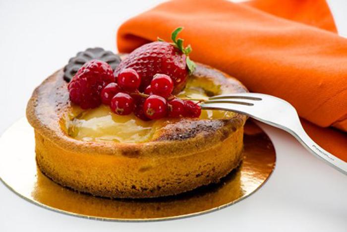Tartaleta de Manzana con Frutos Rojos