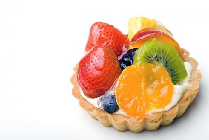 Tartaleta de Queso y Frutas
