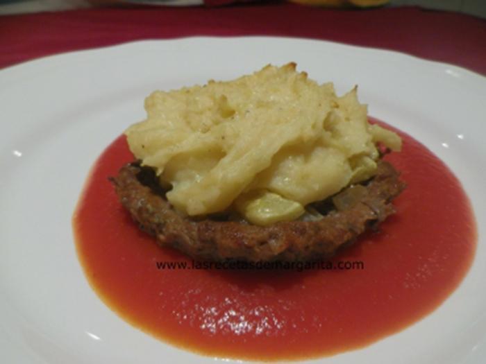 Tartaletas de carne picada