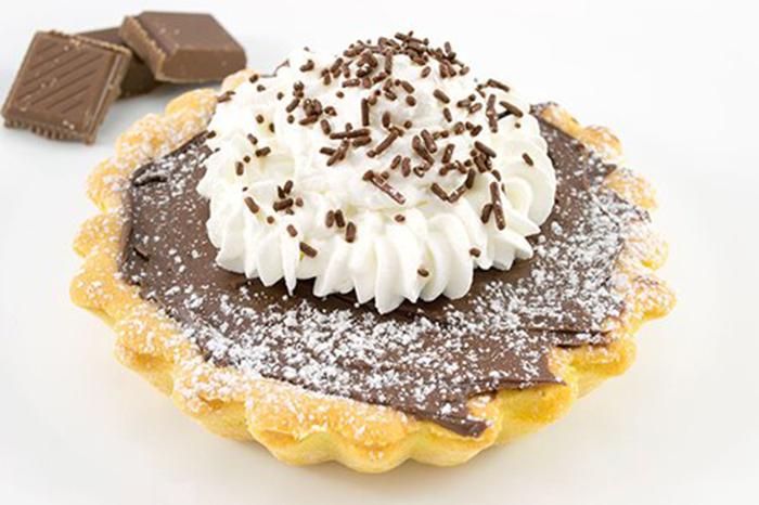 Tartaletas de Chocolate con Nata Montada