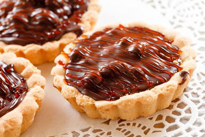 Tartaletas de Chocolate y Mermelada