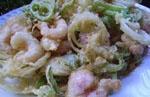 Tempura de Calamares y Verduras.