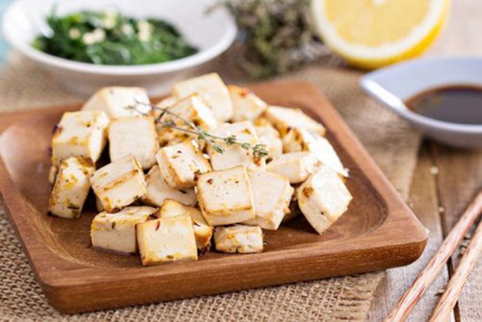 Tofu Marinado al Horno