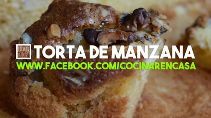 Torta de Manzana con Aceite de Oliva