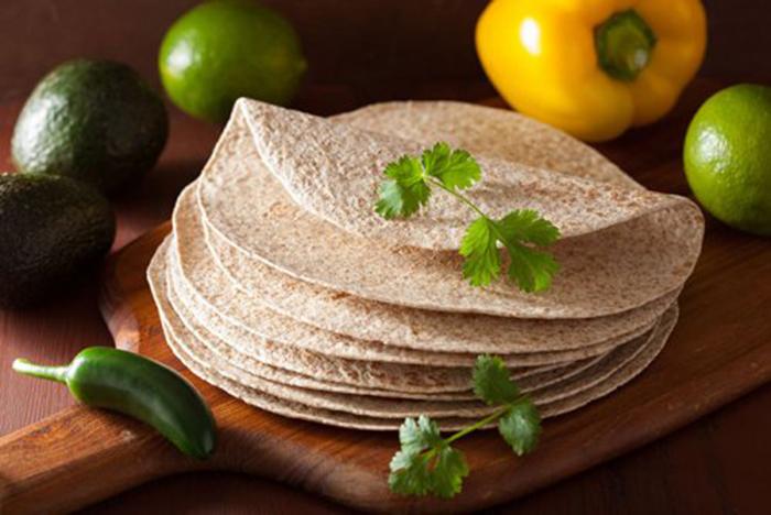 Tortillas para Tacos Integrales