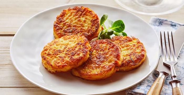Tortitas alemanas de patata