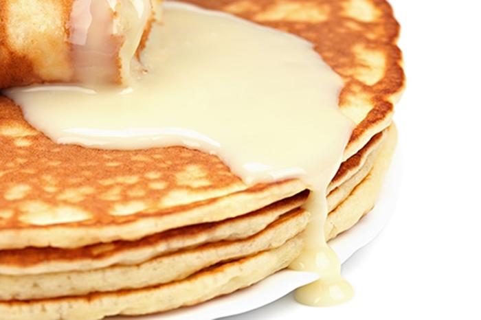 Tortitas con Leche Condensada