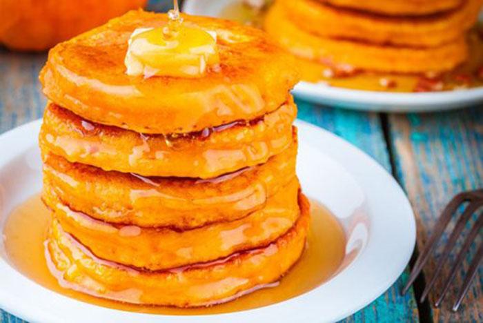 Tortitas de Calabaza con Miel