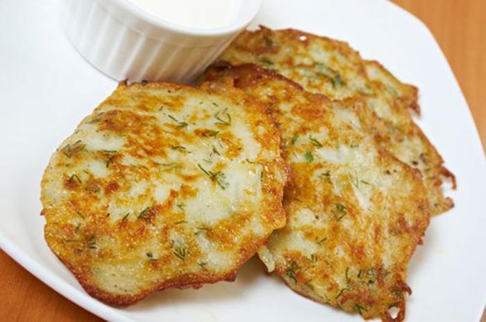 Tortitas de Patata y Ajo