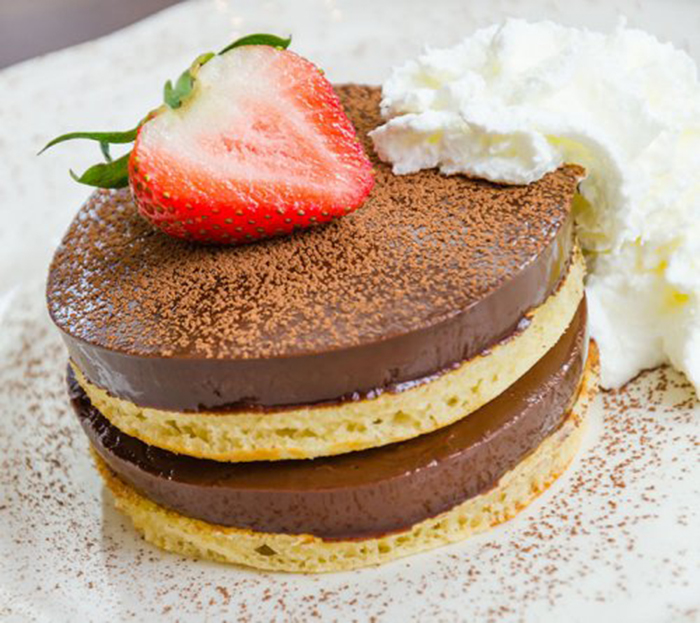 Tortitas de Vainilla y Chocolate