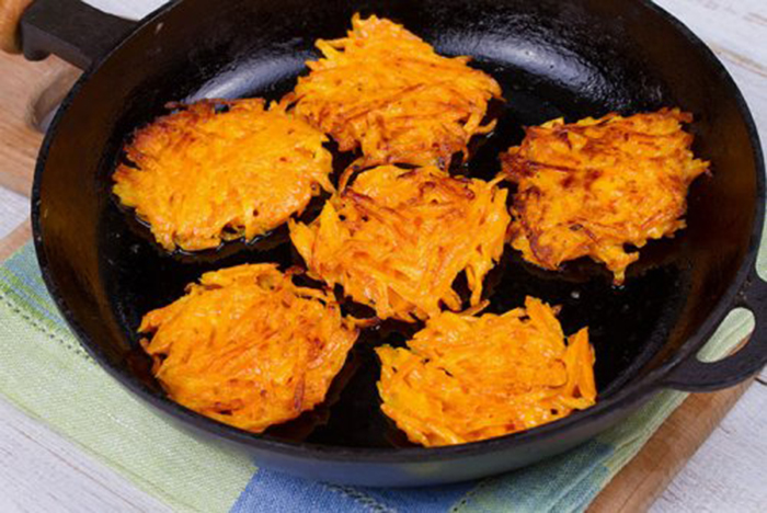 Tortitas de Zanahoria
