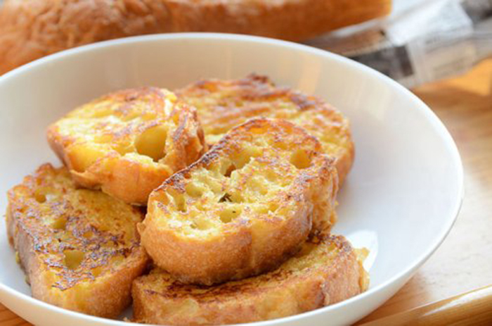 Tostadas Francesas con Baguette