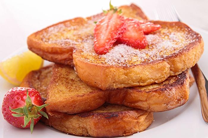 Tostadas Francesas con Fresas