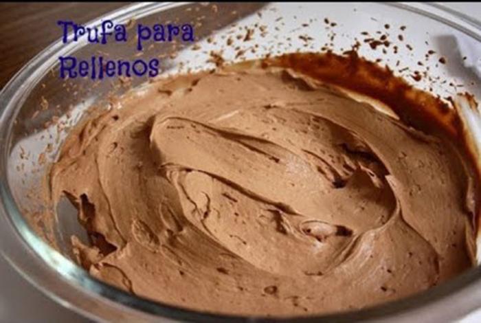Trufa de Chocolate para Rellenar Tartas