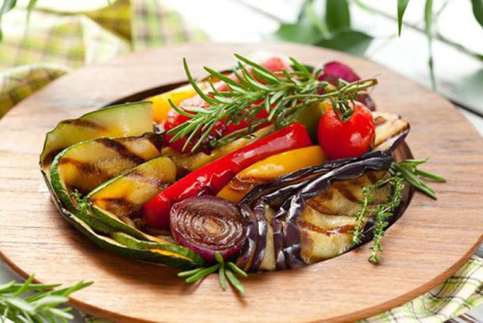 Verduras a la Plancha con Hierbas Aromáticas