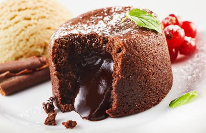 Volcán de Chocolate Extra Cremoso