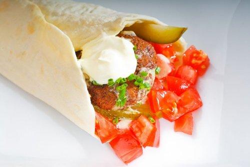 Wrap de Falafel