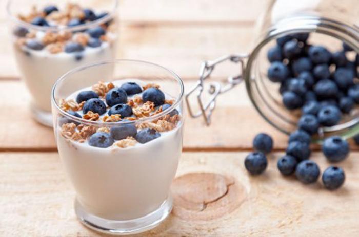 Yogur Biológico con Arándanos y Cereales