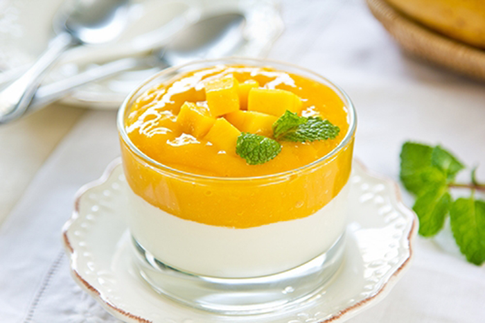 Yogur con Mango