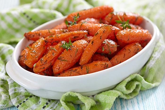 Zanahorias a las Finas Hierbas