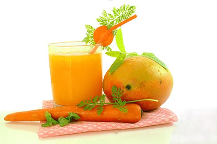 Zumo de Mango, Naranja y Zanahoria
