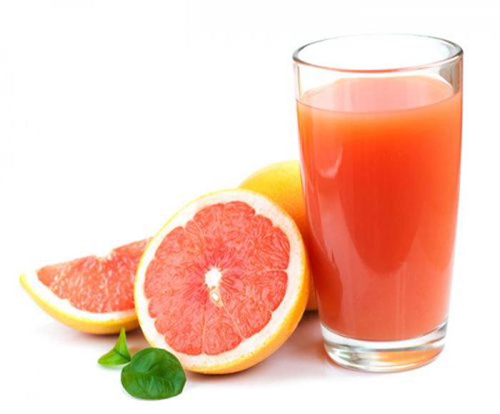 Zumo de Pomelo y Naranja