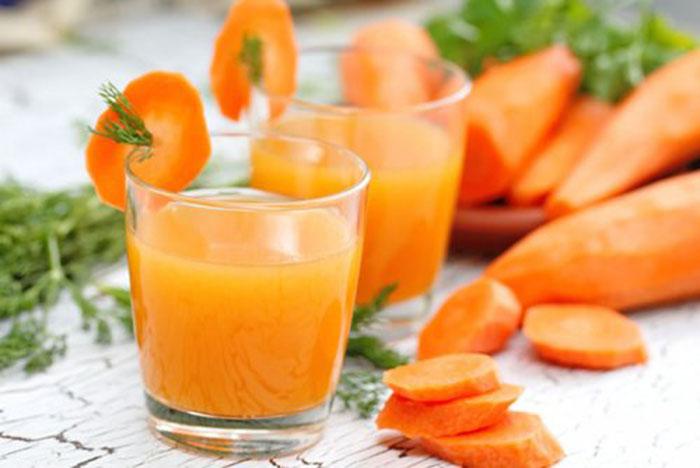 Zumo de Zanahoria Antioxidante